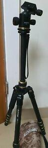 Zomei Z669c Pro Portable Carbon Fiber Ball Head Tripod Monopod for Camera DSLR