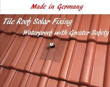 Tile Roof Solar Panel Mounting Fixing Feet Watertight Seal Flashing Kit 4 Sets