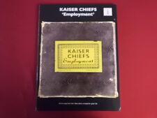 Kaiser Chiefs - Employment . Songbook Notenbuch Vocal Guitar