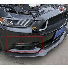 Carbon Fiber Front Fog Lamp Light EYELID Cover Trim 15-19 Ford Mustang GT Shelby