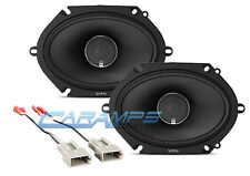 NEW INFINITY KAPPA CAR/TRUCK STEREO FRONT OR REAR SPEAKERS W SPEAKER HARNESS