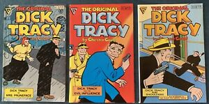 3 Issues Of Dick Tracy: #1, 2 & 5  Gladstone Editions