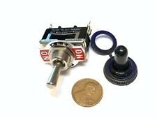 1 Piece Black Waterproof 15a Spdt 3pin Momentary Toggle Switch On Off On Wd C25