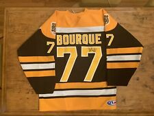 Ray Bourque Autographed Signed Jersey Boston Bruins Men Xl Athletic Knit