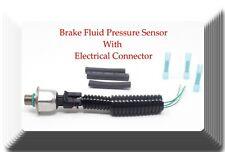 Brake Fluid Pressure Sensor W/Electrical Connector Fits:Cadillac Chevrolet GMC