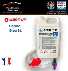 Additif FAP Cerine Bleu F.A.P Combutec 3  3L  Warm Up CITROEN PSA FORD