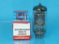 TELEFUNKEN 12AU7 ECC82 VACUUM TUBE SINGLE 1955  <> BOTTOM SUPER STRONG T12