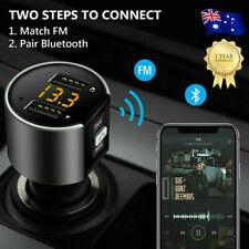 Handsfree Wireless Bluetooth Car Kit FM Transmitter USB Charger Radio MP3 Player