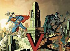 Batman 50 Superman #50 Dave Johnson 1:100 Connecting variant Interlocking Incent