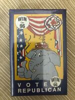 1 Deck Republican  Playing Cards 1995 new sealed win 96 Vote Republican new