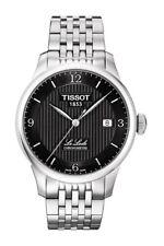 Tissot Men's Le Locle Automatic Chronometer Watch Black Dial COSC