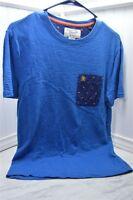 Penguin Blue Small Tee One Pocket Men's Shirt