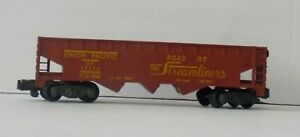 AMERICAN FLYER 24216 Brown U.P. UNION PACIFIC HOPPER Knuckle Freight CAR C-7
