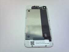 NEW WHITE OEM iPHONE 4 4G BACK GLASS REAR DOOR BATTERY COVER USA COMPLETE SET