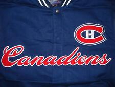 Size M NHL Montreal Canadiens  Heavy Cotton Embroidered Jacket M