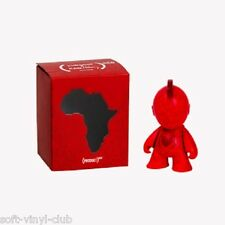 KIDROBOT X (RED) BOT MINI FIGURE ART TOY 3-INCH