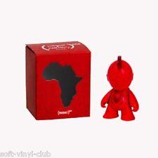 Kidrobot X (Rojo) Bot Mini Figura Artículo Toy 3-inch