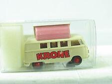"Brekina Bus T1 ""Circus Krone"" Dormdach Campingbus OVP (R8733)"