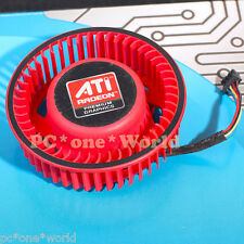 ATI Video Card 5450 5650 4350 6990 6970 6950 6870 6850 75mm  0.8A Fan 100% OK