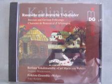 Kalinka- Russische und deutsche Volkslieder- Wiedermann/ Kostew- MDG