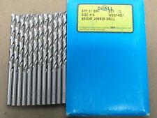 Bright Finish USA 11 pcs GREENFIELD #17 Jobber Length HSS Twist Drill Bits