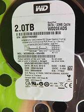 Western Digital 2 TB WD20EADS-00W4B0 | DCM:HBNCNV2AB | 23AUG2013 | disque dur