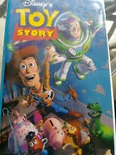 Toy Story Walt Disney Home Video VHS  White Big Box Clam Shell Case Out of print