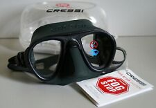New listing Cressi Calibro DS 429850 Scuba Diving Mask, Green / Green Frame