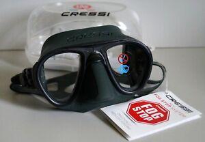 Cressi Calibro DS 429850 Scuba Diving Mask, Green / Green Frame