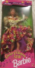NEW IN BOX BARBIE Mattel 1994 Country Western Star Doll Wal-Mart Special