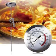 40cm Deep Fry Thermometer with Clip Oil Fried Cooking Probe Candy Meat Hot