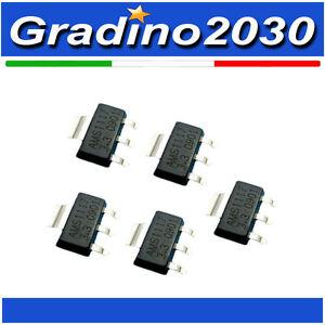5 Pezzi - AMS1117 Regolatore Tensione 3.3V 1A Low Dropout Voltage Regulator 1117
