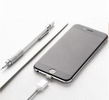 Ladekabel iPhone 5 6 7 8 Plus X / 1m Magnetladekabel USB Lightning Kabel Silber