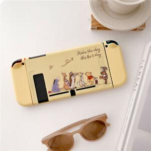 Cute cartoon Winnie pooh Nintendo Switch Case Skin soft Shell Protective cover
