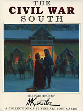 "Mort Kunstler Collectible ""Civil War South"" Postcards"