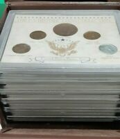 150 Years of America's Coins - 30 Coin Type Set in Plastic Holder W/Case