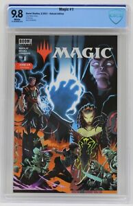 Magic (2021) #1 Matteo Scalera Ashcan Edition CBCS 9.8 Blue Label White Pages