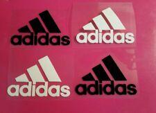 Adidas Iron On Decals, Set of 4, 2 Inches Decals, Designer Decals, mask Decals