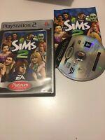 ❤️ Jeu Playstation 2 Ps2 complet pal fr les sims 2 avec notice jeu de vie