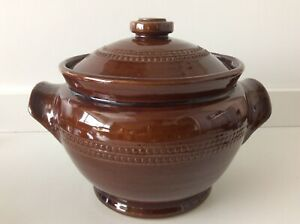 Pearsons Of Chesterfield Brown Casserole Dish