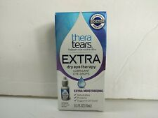 thera tears EXTRA Dry Eye Therapy Lubricant Eye Drops, 0.5 oz (15ml)