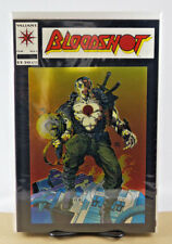 BLOODSHOT #1 FOIL BARRY WINDSOR-SMITH COVER VALIANT COMICS 1993 NM