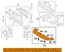 FORD OEM 13-16 Fusion Splash Sheild-Under Engine/Radiator DS7Z8349B