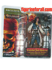 NECA Pirates Caribbean Dead Man's Chest JACK SPARROW Cannibal Figure Exclusive