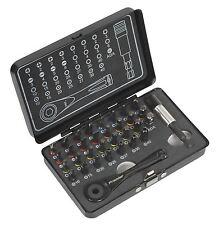 Sealey ak7975 pilote de la clé à cliquet & IMPACT CLASSE torsion Set mèches