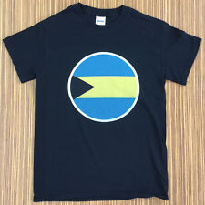 Size  Small Round Bahamian Flag  T-Shirt Tee Shirt Bahamas BHS BS - 35