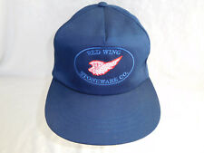 Vintage Red Wing Stoneware Co Logo Baseball Cap Hat Strapback Pottery