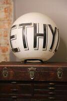 Vintage Ethyl Gasoline Gas Pump Globe Sign Service station texaco mobil etc