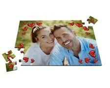 PUZZLE CON COLLAGE FOTO PERSONALIZZATA REGALO PERSONALIZZATO A4 210mm × 297mm