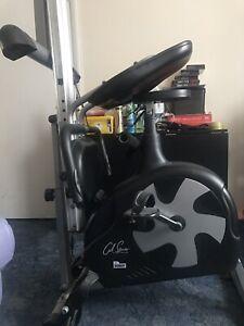 Carl Lewis Magnetic Recumbent Cycle/Rower